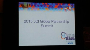 2015年JCIグローバル・パートナーシップサミット